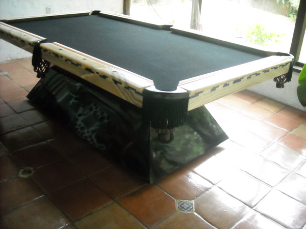 Egyptian Marble Pool Table